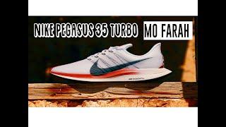 Nike Pegasus 35 Turbo SIR MO FARAH ¡¡Las Pegasus Turbo MÁS BONITAS del 2019!!