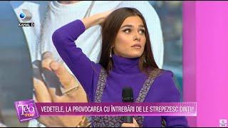 Teo Show (19.11.2020) - Denisa Nechifor, Theo Rose si Andrei raspund sau beau potiuni de groaza?!