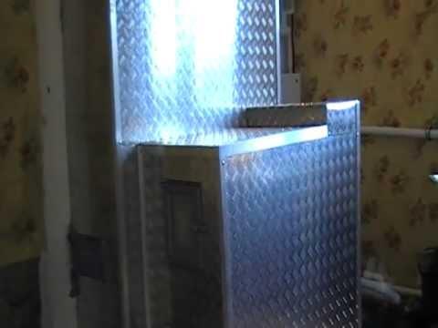 печь кирпичная в алюминиевом коробе