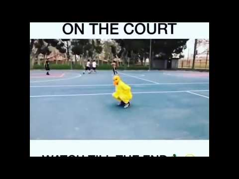 Most Savage Duck On The Court Savage AF!!!