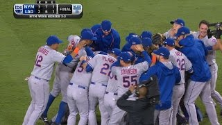 Familia seals win to send Mets to NLCS