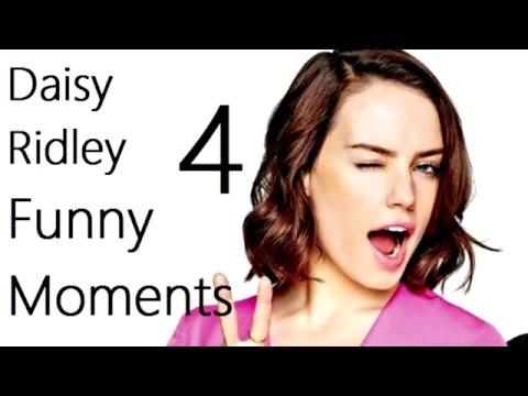 Daisy Ridley Funny Moments 4