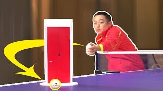 Ping pong trick shots i ft. olympic champion liu guoliang