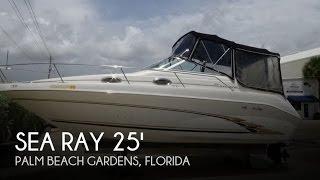 Used 1998 Sea Ray 250 Sundancer for sale in Palm Beach Gardens, Florida
