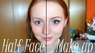 ♥ Half Face Make up & Сила макияжа ♥  от MakeupKaty