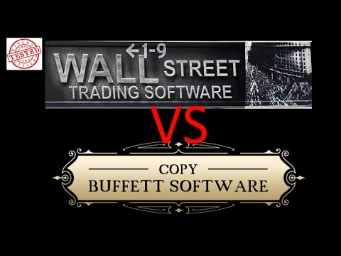 Copy Buffet Software vs Wall Street Trading Software