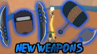 ROBLOX Shinobi Life OA - NEW SWORDS | ELEMENTAL EFFECTS