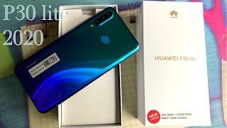 Взял HUAWEI P30 Lite Новая версия 2020 года