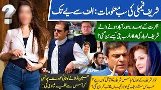 Sharif Family History | Nawaz Sharif Rival of PM Imran Khan | Shahbaz Sharif | Maryam Nawaz | PML-N