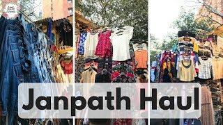 Janpath Haul    Shopping in Delhi    Janpath Market Shopping Guide
