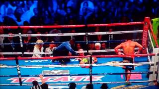manny pacquiao knocked out vs juan manuel marquez 2 8 13 manny gets knocked out