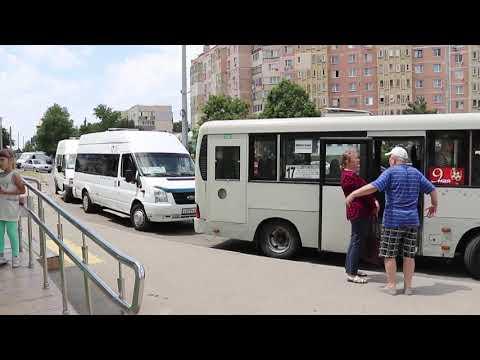 Новая схема движения автобусов в Анапе