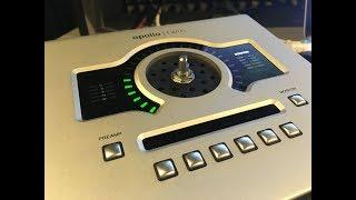 Universal Audio Apollo Twin Duo - Замена энкодера, ручки громкости