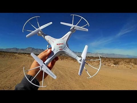 Syma X5C-1 Drone, Your Mother Could Fly This!