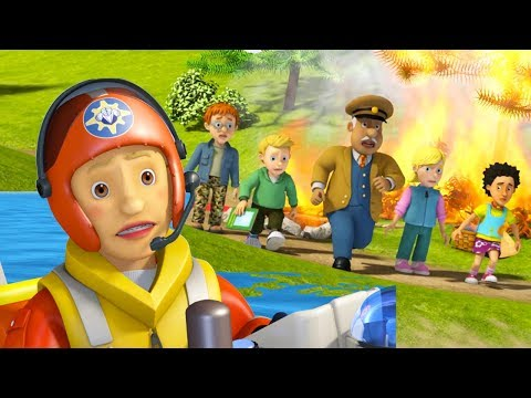 Fireman Sam US full episodes | Fireman Sam theme song - Penny Morris rescues 🚒Videos for Kids
