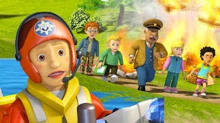 Fireman Sam US full episodes | Fireman Sam theme song - Penny Morris rescues 🚒Videos for Kids
