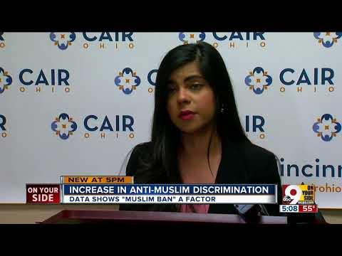 Report: Growing number of anti-Muslim incidents