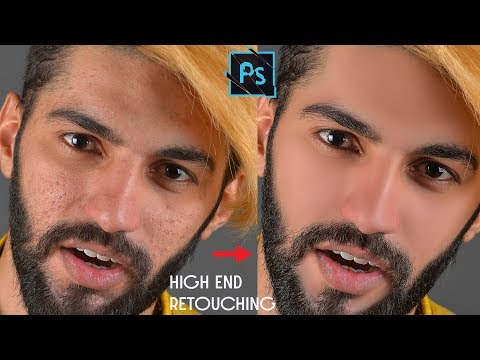 High-End Retouching of Rough Skin Easy & Faster Manually in Photoshop