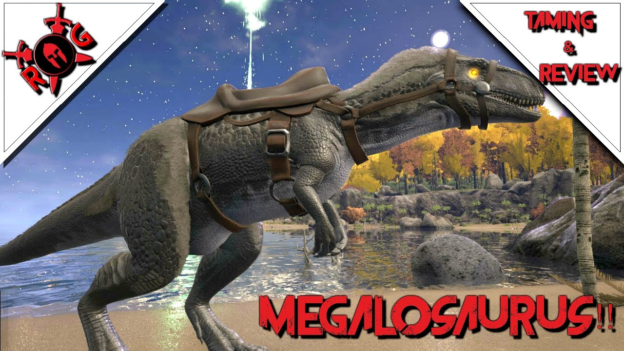 Ark Megalosaurus Taming Review Patch 252 Youtube Megalosaurus saddle ( level 57 ). ark megalosaurus taming review patch 252