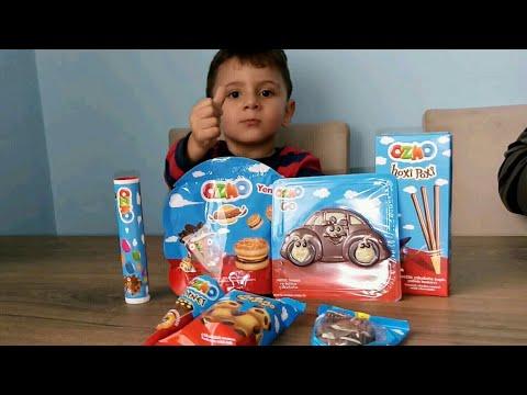 Ozmo çikolata çeşitlerini Tadıyoruz, Ozmo Cornet, Ozmo Kek, Ozmo Go,arabalı çikolata,ozmo Hoxi Poxi,
