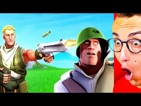 This Is The BEST FORTNITE vs. VIDEO GAMES Animation!