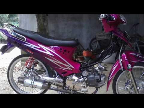 Cah Gagah | Video Modifikasi Motor Honda Karisma Airbrush Keren Terbaru Part 2