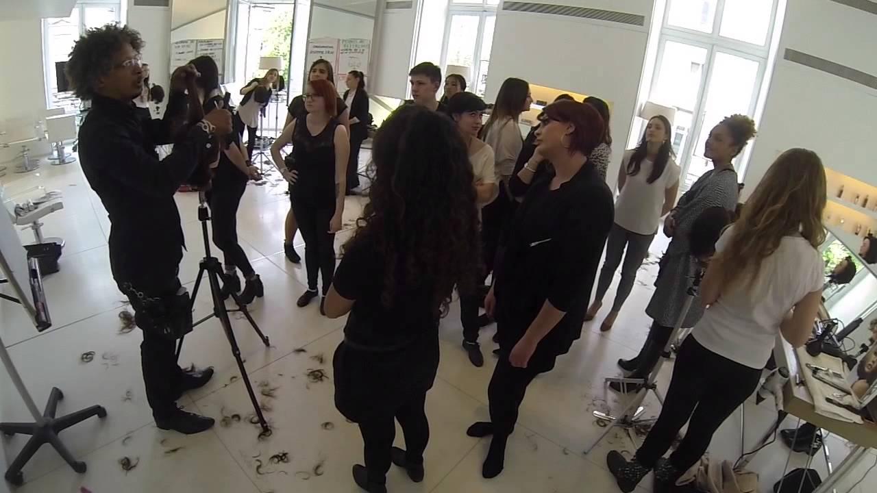 Training école de coiffure Paris ISEC, Redken Cut Inspiration ...