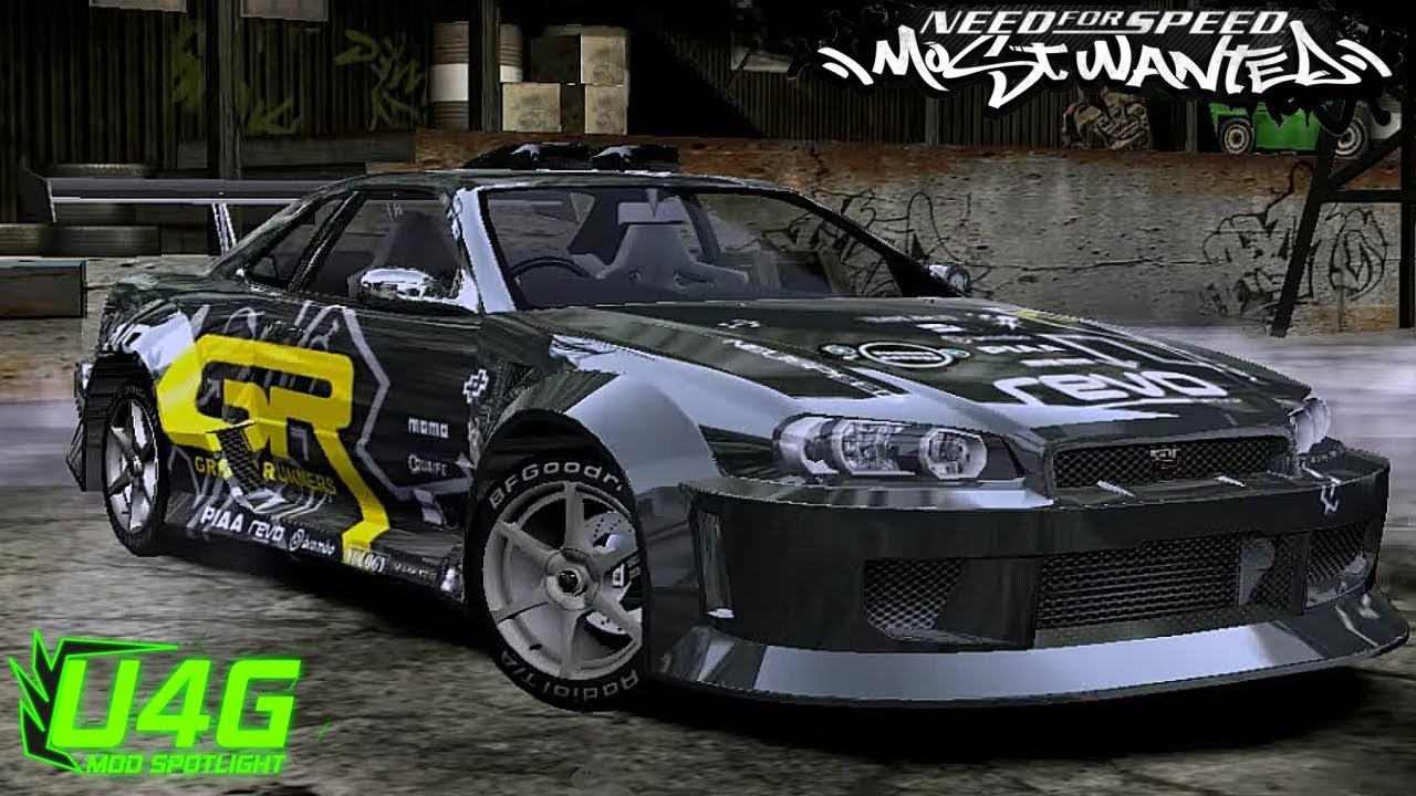 Nissan skyline r34 gtr nfs most wanted 2005 mod youtube vanachro Choice Image