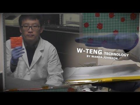 """0 - Forscher 3D-drucken triboelektrischen Nanogenerator """"W-TENG"""""""