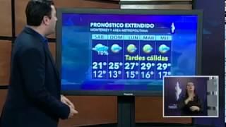 2 y 3 febrero 2019 Pronóstico del tiempo Monterrey Clima Canal 28