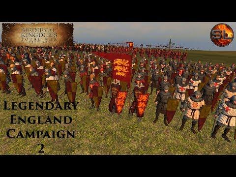 Total War: Atilla - Anno Domini 1080 - Medieval Kingdoms: Legendary England Campaign #2