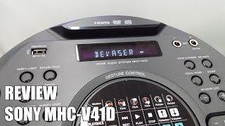 Review Sony MHC-V41D Nuevo Altavoz Bluetooth para fiestas 2018