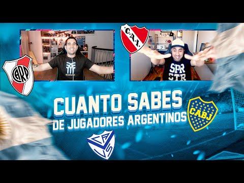 ¿ CUANTO SABES DE JUGADORES ARGENTINOS ? vs SEBAS