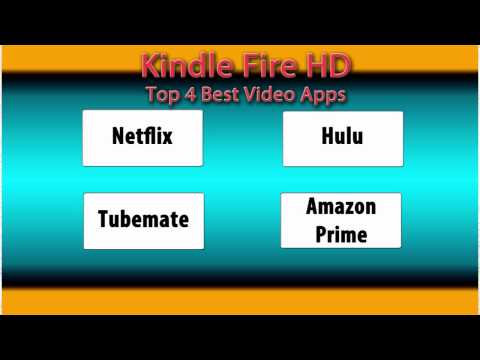 Kindle Fire HD: Top 4 Best Video Apps​​​ | H2TechVideos​​​