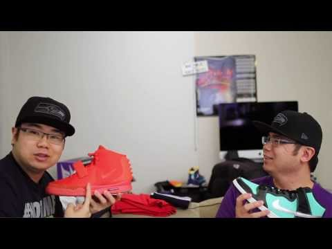 Air Yeezy 2 Red October (Kanye West/Taylor Swift Edition)