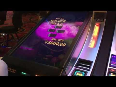 willy wonka slot machine golden ticket