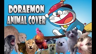 DORAEMON - Kucing, Anjing, Ayam, Kambing (Animal Cover)