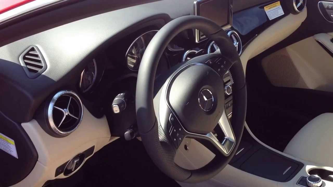 Mercedes benz cla250 interior