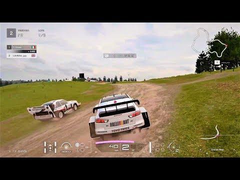 Gran Turismo Sport Demo- Group B Rally race @ Colorado Springs - Lake