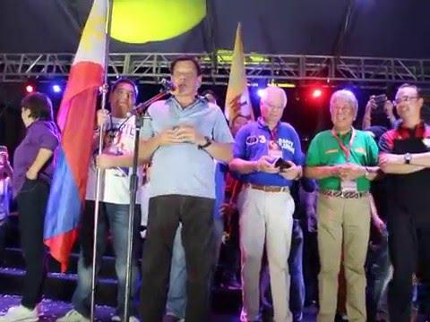 DUTERTE'S SPEECH IN PANDACAN MANILA