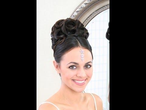 Wedding hair video - Southeast asian updo - YouTube