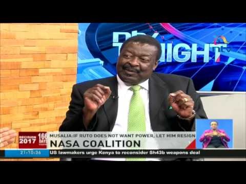 Mudavadi: Everything we do as NASA will be done in a constitutional process #Decision2017