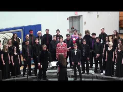 What Child Is This - Lone Jack High School choir