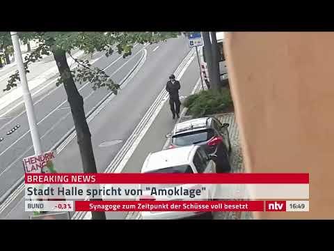 Schießerei In Halle