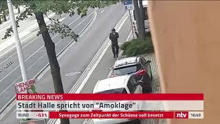 Live: Schießerei in Halle