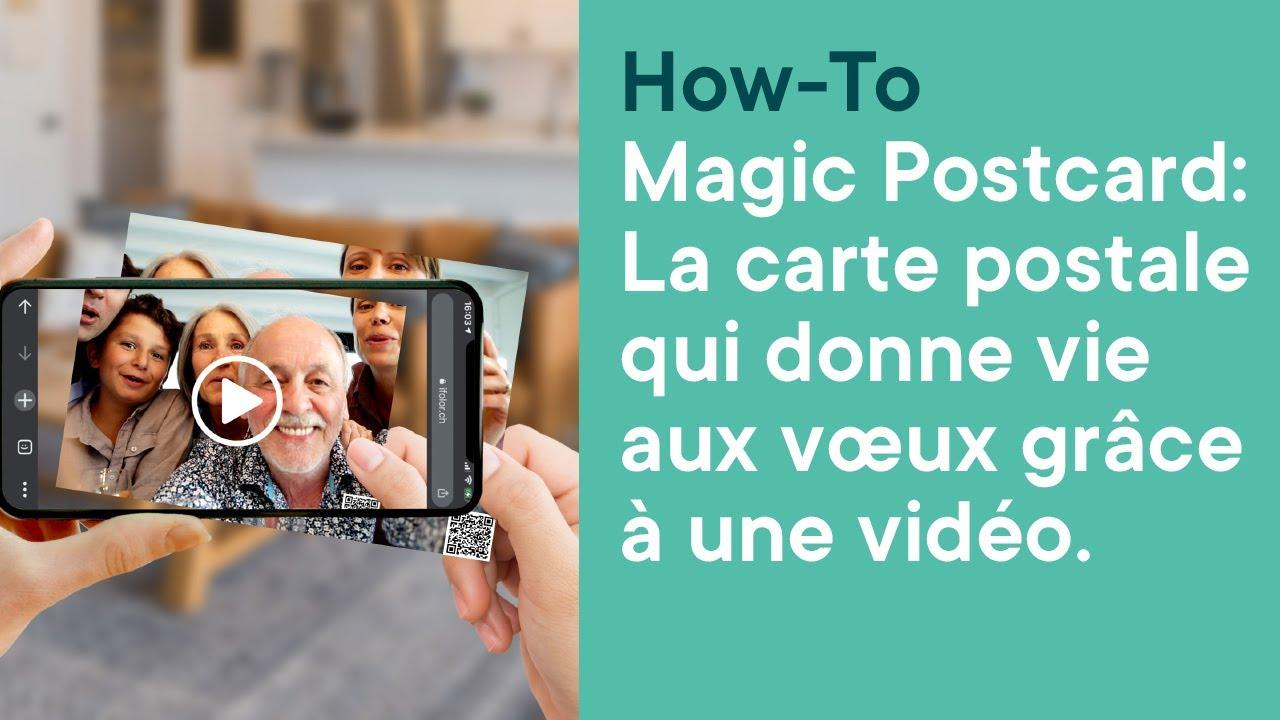 Magic Postcard d'ifolor | ifolor