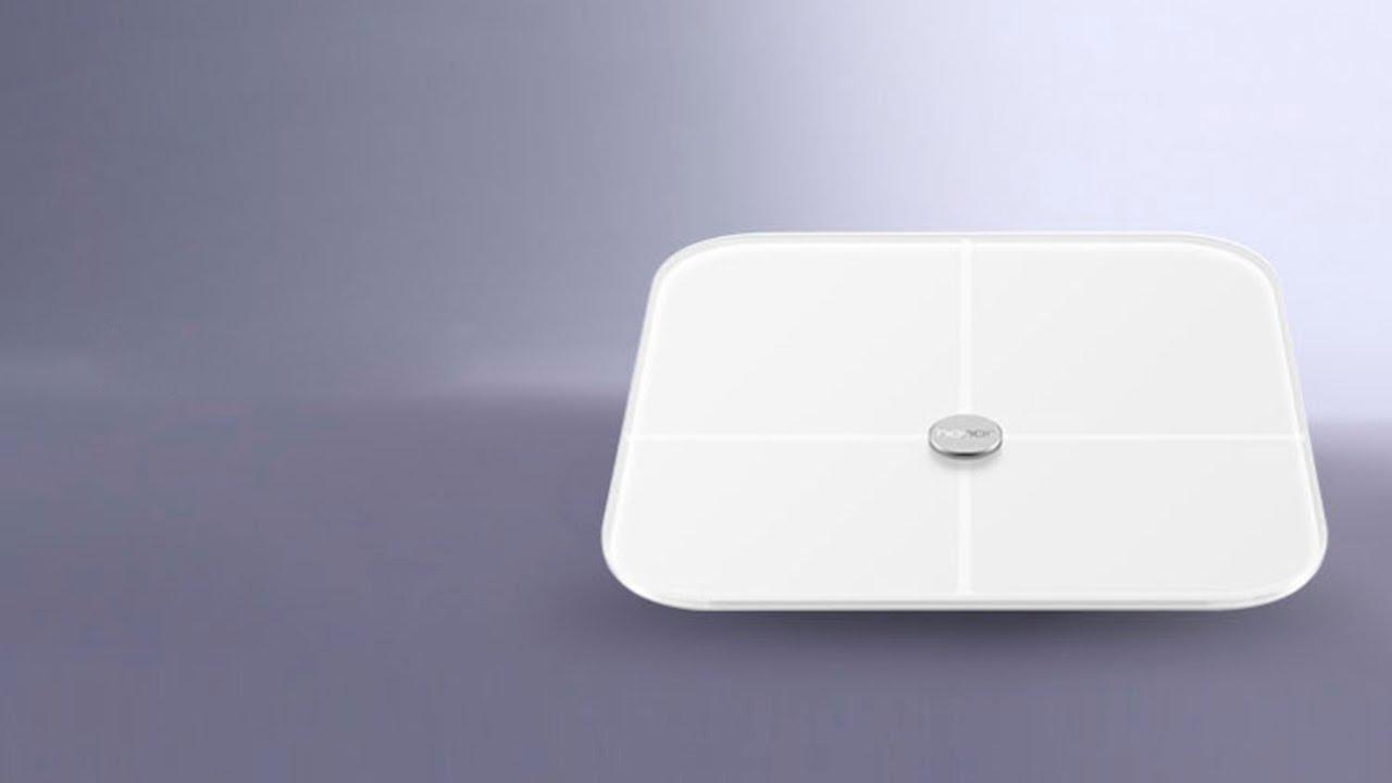 Huawei Honor Smart Scale - обзор умных весов с индексом массы тела.