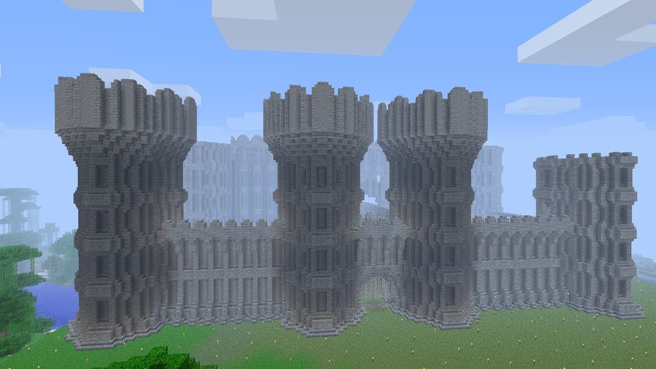 Minecraft Castle Progress Episode 12: Tower - YouTube