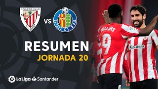 Resumen de Athletic Club vs Getafe CF (5-1)