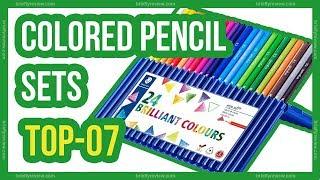 Top 7 : Best colored pencil sets 2018